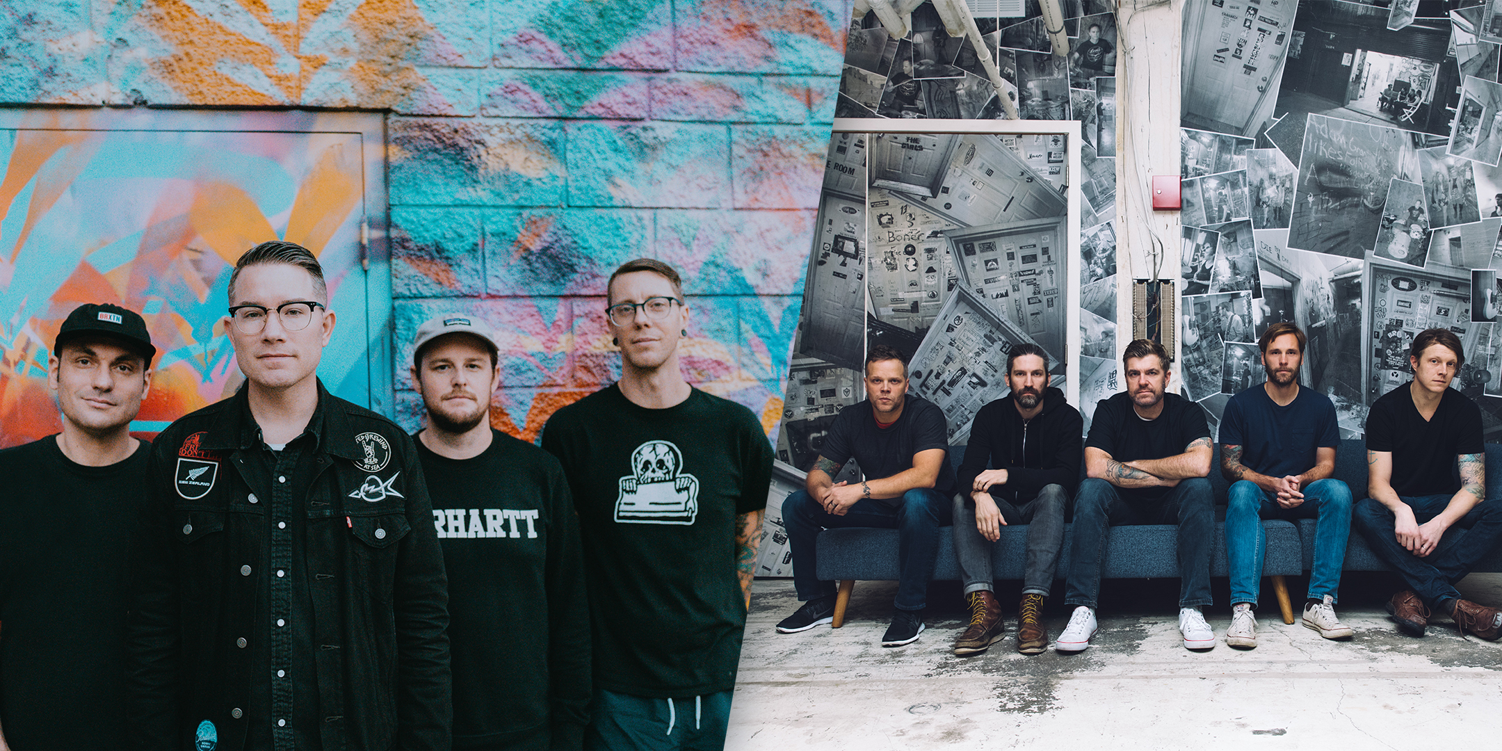Hawthorne Heights & Emery at HI-FI 2019